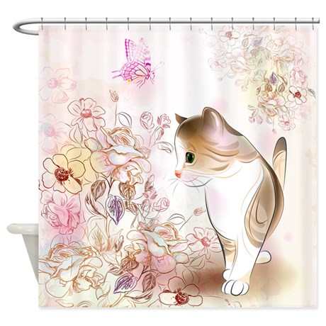 Cat Lover Shower Curtains