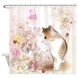 Cat Lover Shower Curtains from Cafepress Hand Picked by us