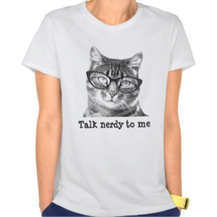 Cat With Glasses Shirt