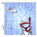 dog lover shower curtains
