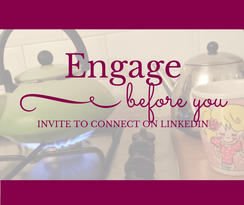 How to actually engage on LinkedIn before you connect!
