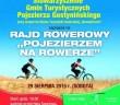 plakat Pojezierze na rowerze