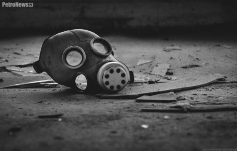 Prypeć - maska przeciwgazowa