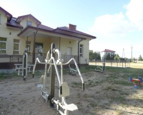 Siłownia zewnętrzna w Rogozinie