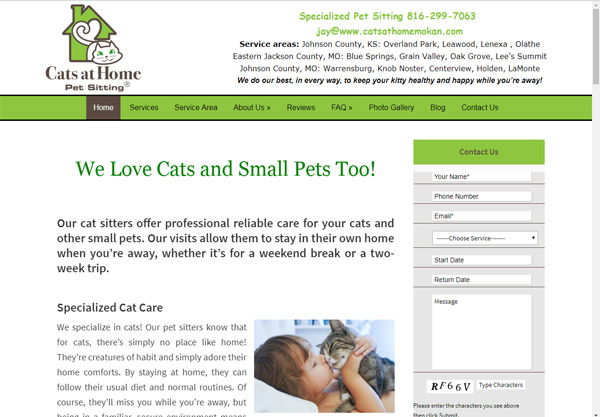 7 Examples of Pet Sitter Websites That Perfectly Connect With - pet babysitter
