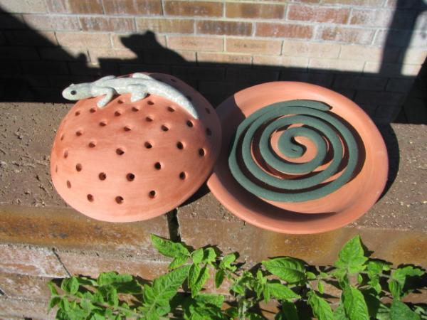Zap Zika With Handmade Ceramic Mosquito Coil Holders