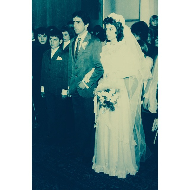 My parents got married on Dec 23, 35 years ago. He was 23, she was 19. Kids. Thank you for making things happen.