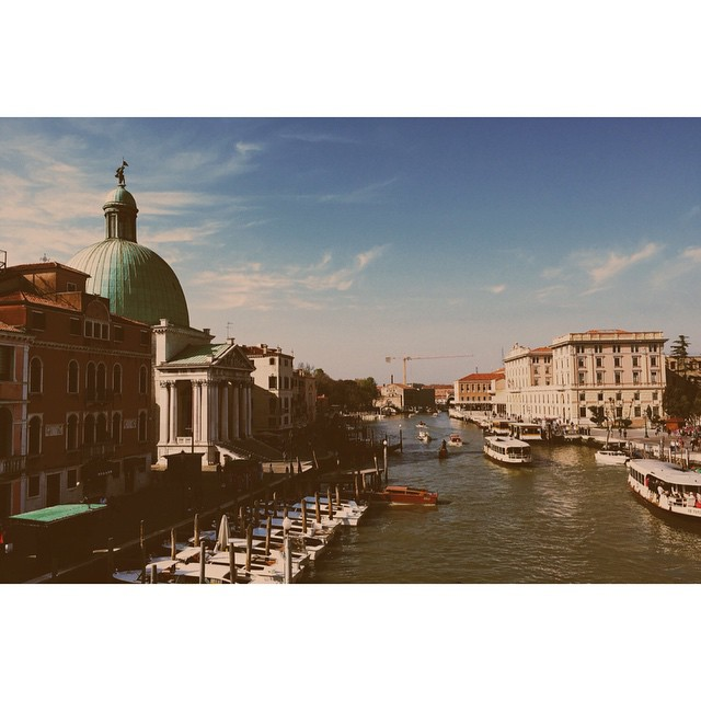 #Venice in the sun, yesterday morning. Wish we had more time... #latergram