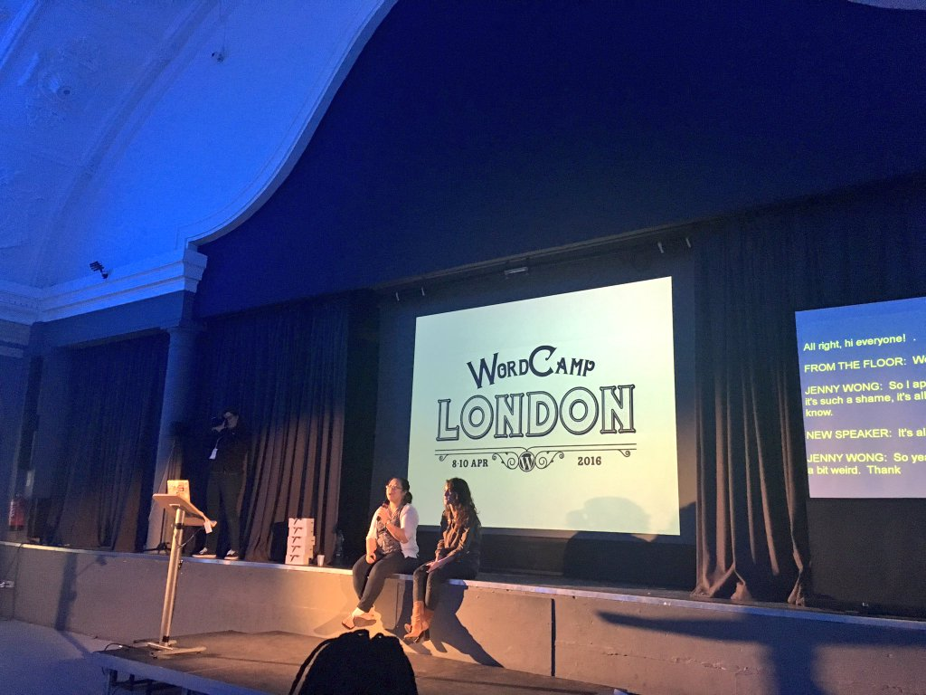 Stand up comedy during #WCLDN…