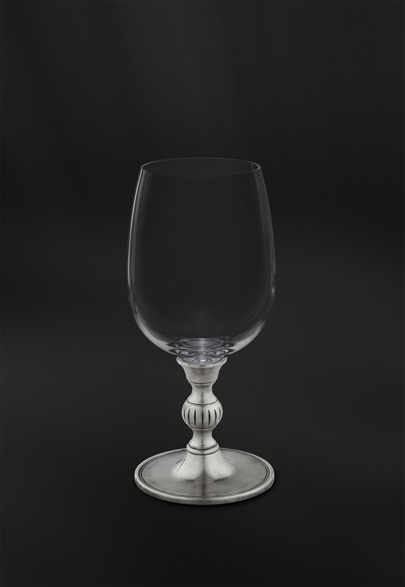 Weinkelch Glas Crystal And Pewter Wine Glass Art 807