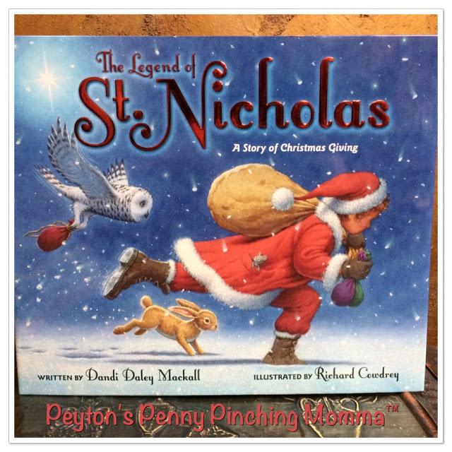 The Legend of St Nicholas by Dandi Daley Mackall