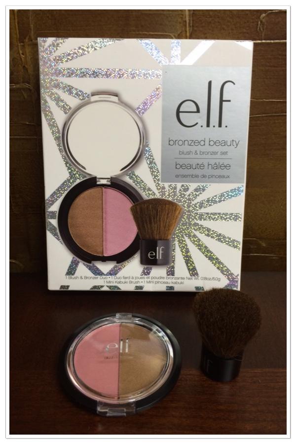 e.l.f. bronzer and  blush