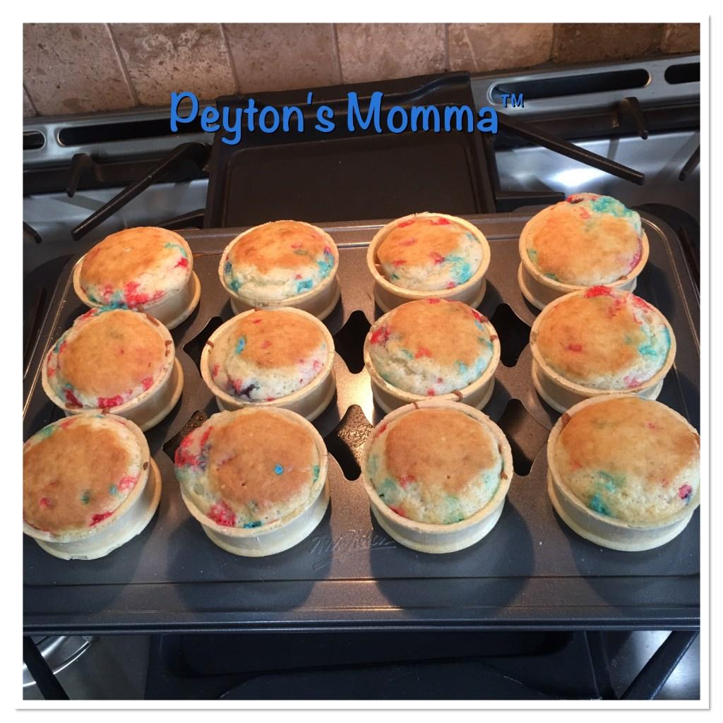 Ice Cream Cones with Cupcakes Inside