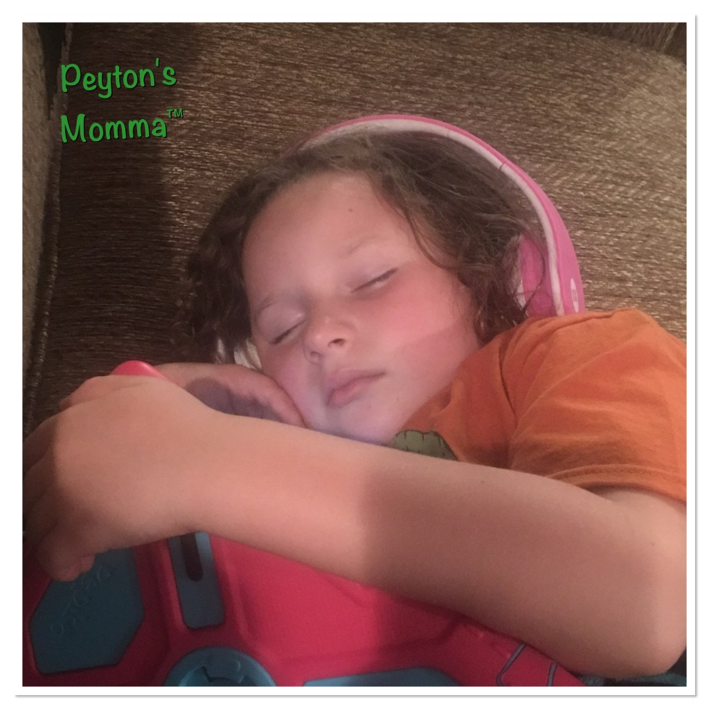 Peyton exhausted after Minnesota Zoo Day Camp
