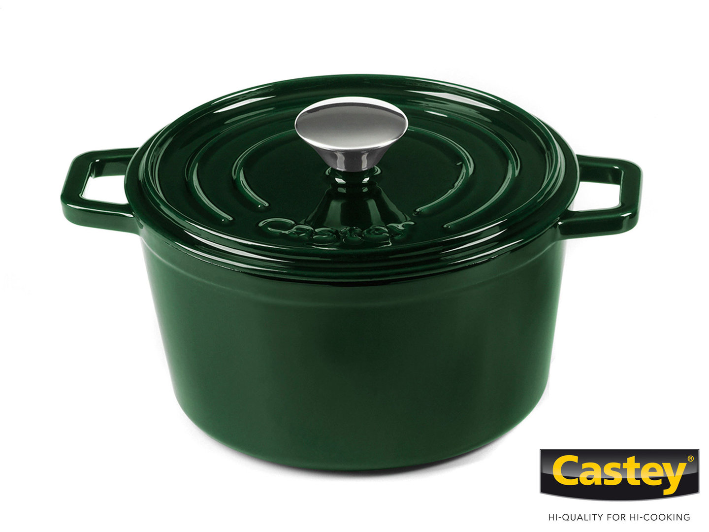 Topf Gusseisen Castey Gusseisen Topf Cocotte 18 Cm Jade Emaille