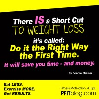 The Short Cut to Weight Loss