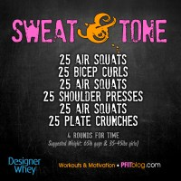 Sweat & Tone with Air Squats