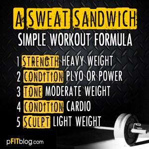 SWEAT SANDWICH