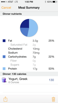 greek yogurt nutritional information