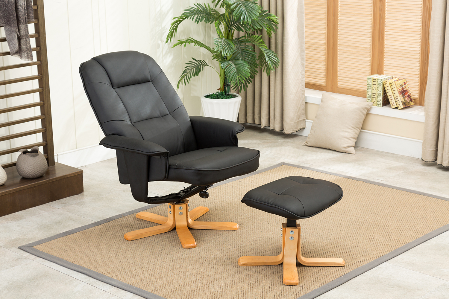 Couchtisch über Hocker Mcombo Racing Sessel Gaming Sessel Relaxsessel