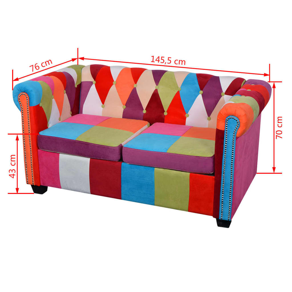 Sofa Bunt Details Zu Stoffsofa 2 3 Sitzer Couch Lounge Sessel Loungesofa Möbel Bunt Sofas Schlafcouch