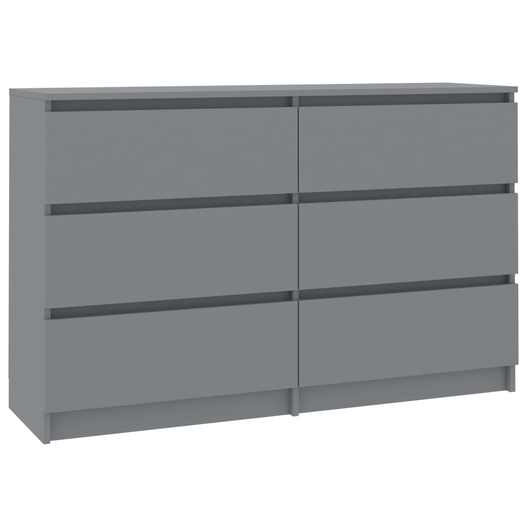 Sideboard 6 Schubladen Kommode Anrichte Highboard