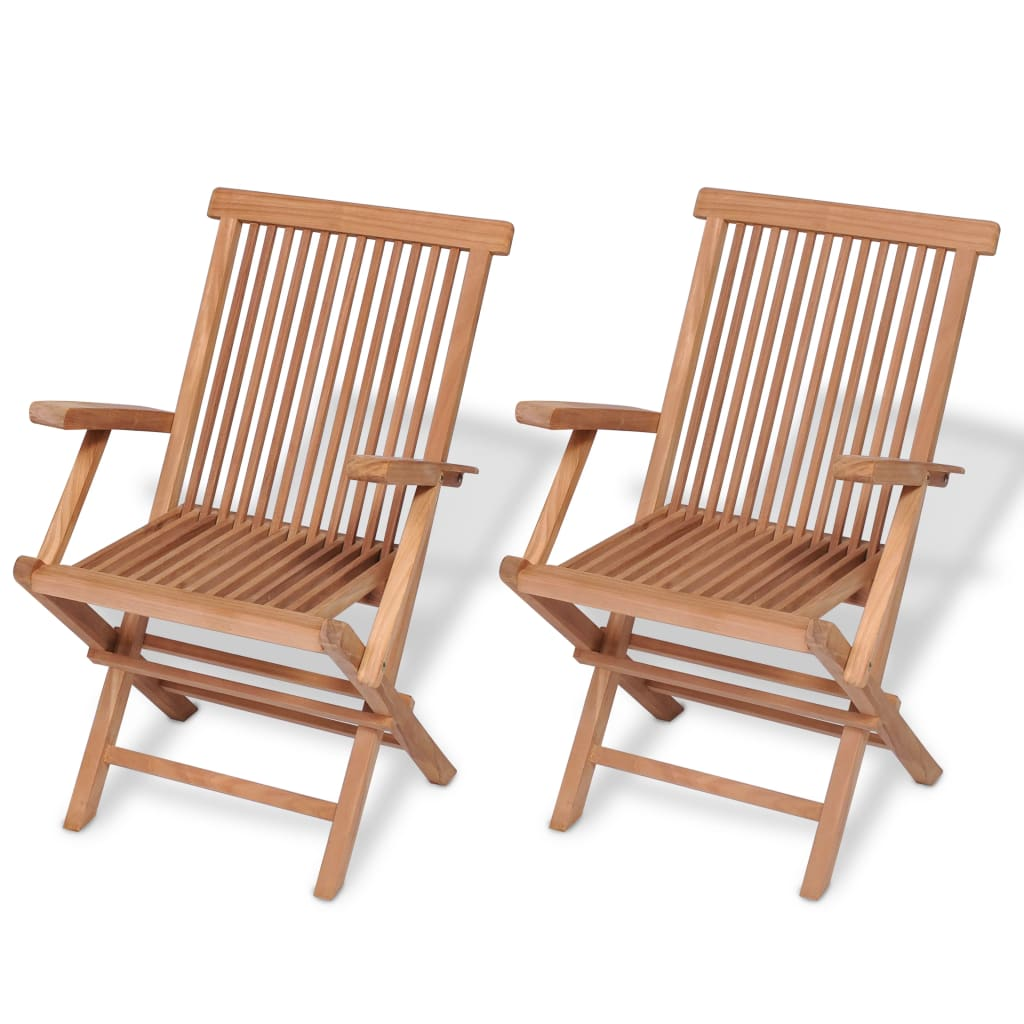 Folding Wooden Chairs Details About Folding Wooden Garden Chairs 2pcs Solid Teak Wood In Outdoor Patio Furniture
