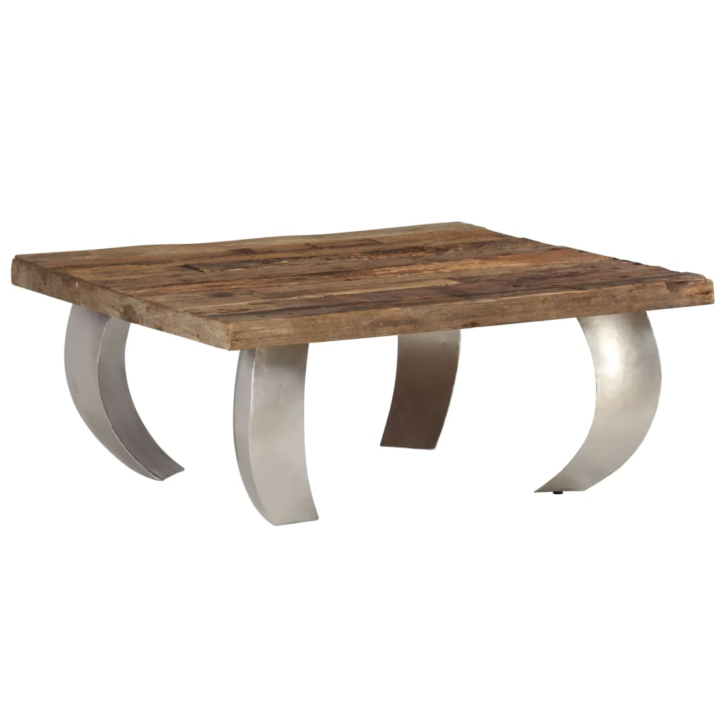 Carrie Couchtisch Details About Opium Coffee Table Living Room Vintage Table Sleeper Wood And Steel 80x78x35 Cm