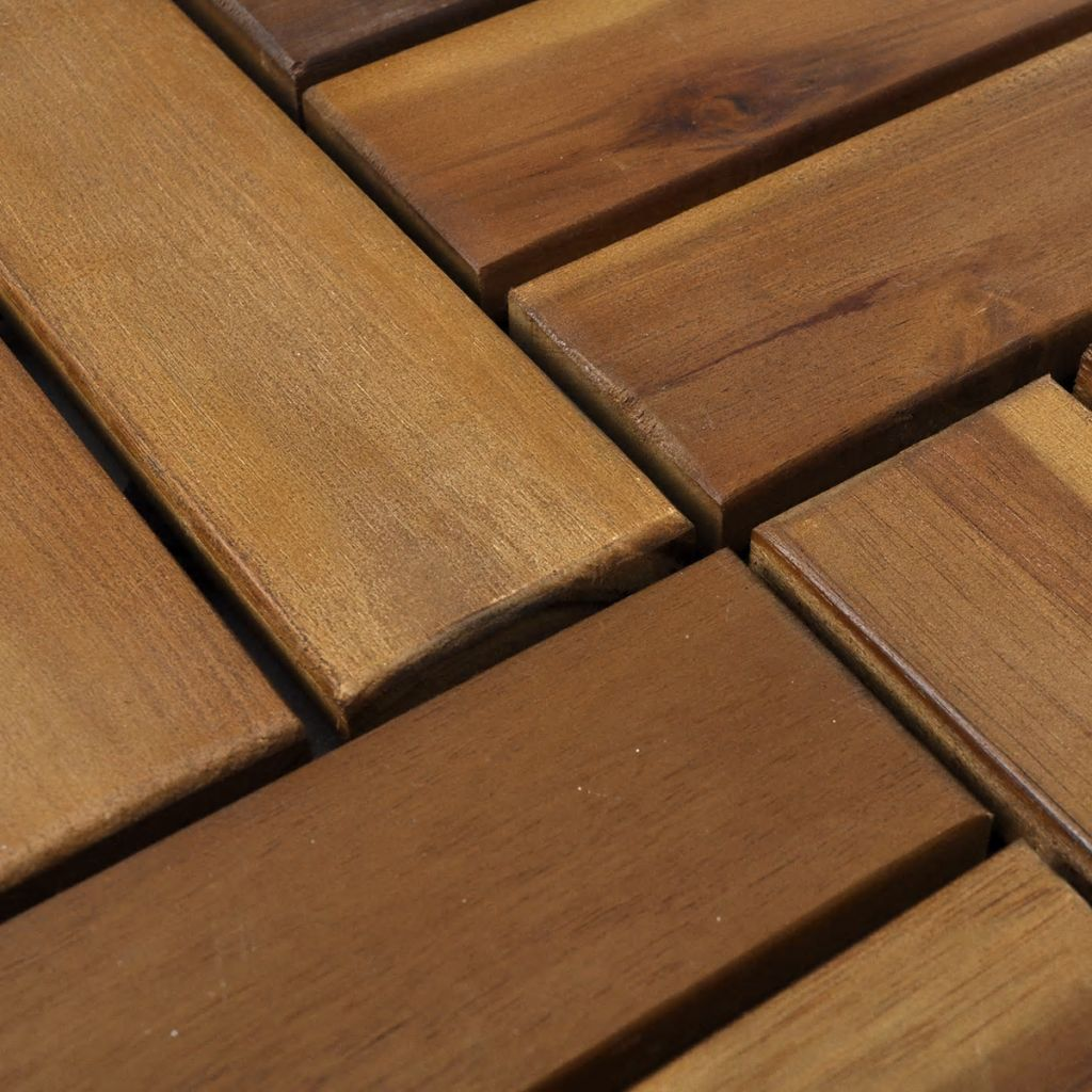 Interlocking Deck Tiles Details About Click Deck Hardwood Decking Tiles Interlocking Deck Tile Patio Balcony Garden