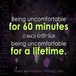 fitness uncomfortable
