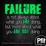 FAILURE is not