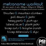 metronome workout