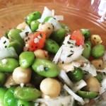 Edamame & Chick Pea Salad