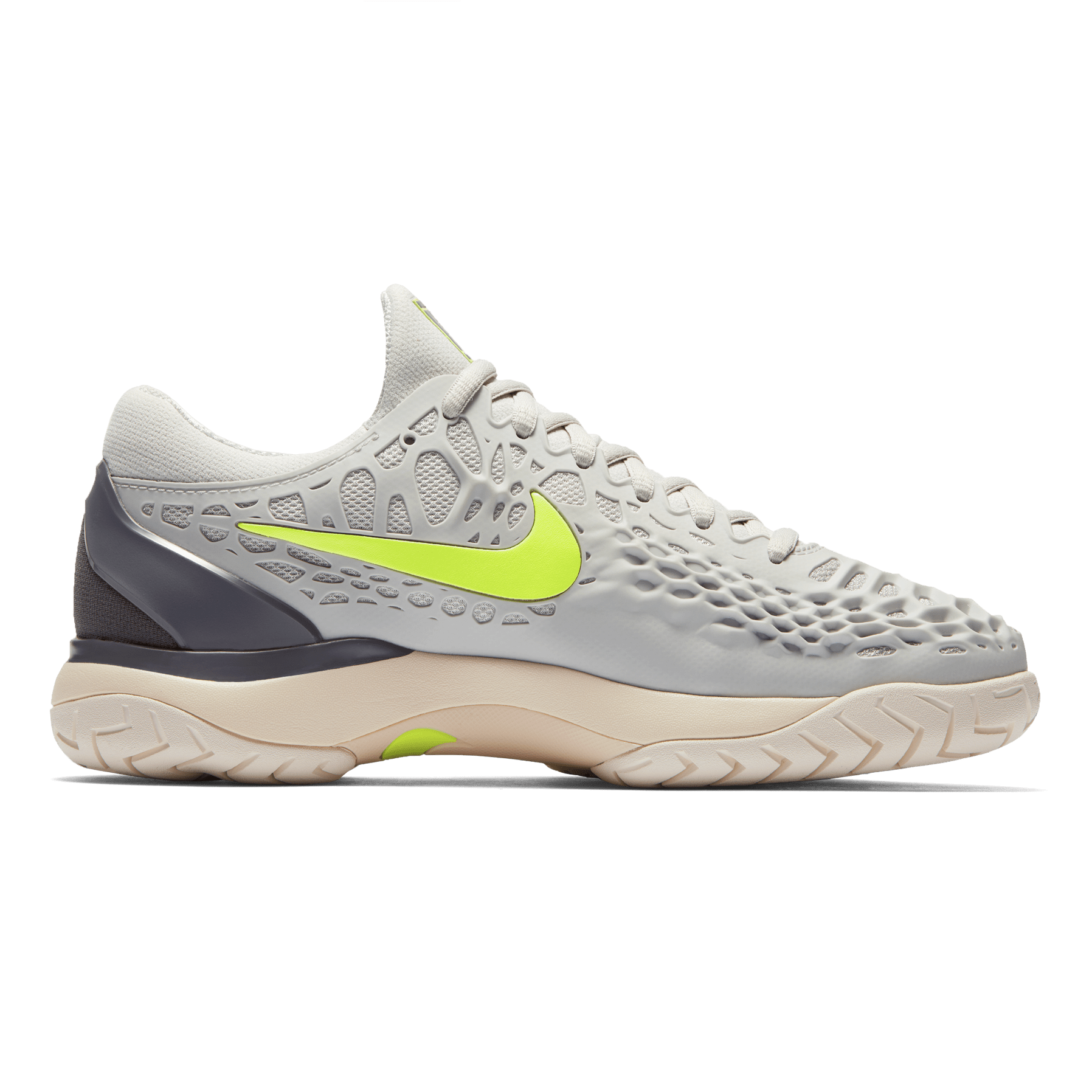Nike Zoom Grey And Green Nike Zoom Cage 3 Women S Tennis Shoe Grey Green