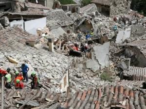 Gempa di Italia Tengah berkekuatan 6,2 magnitude. (foto: Reuters)