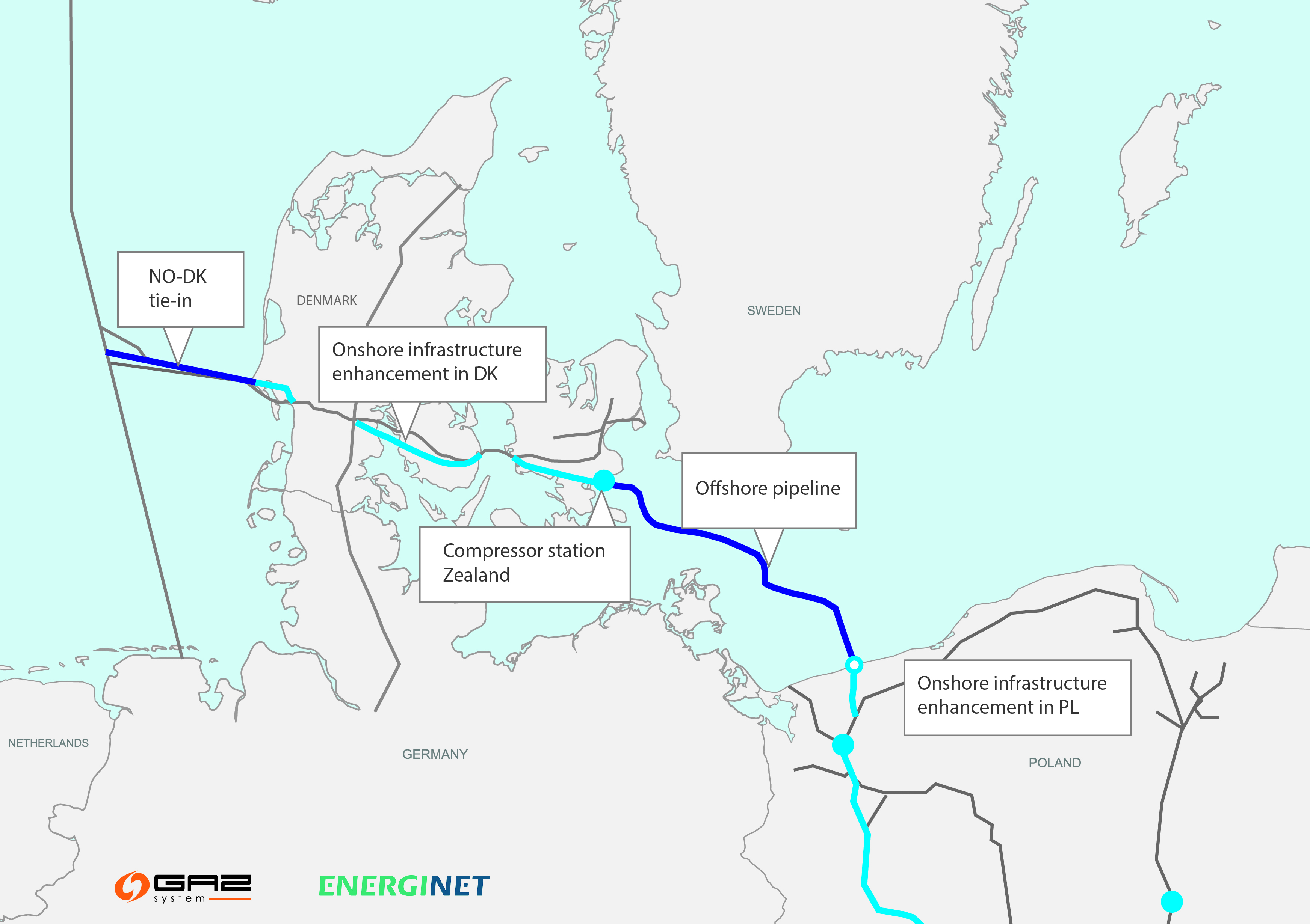 Offshore Pipeline Construction Project Contract Issued Auto Club Car Gcor Wiring Diagram Baltic Pipe Awarded