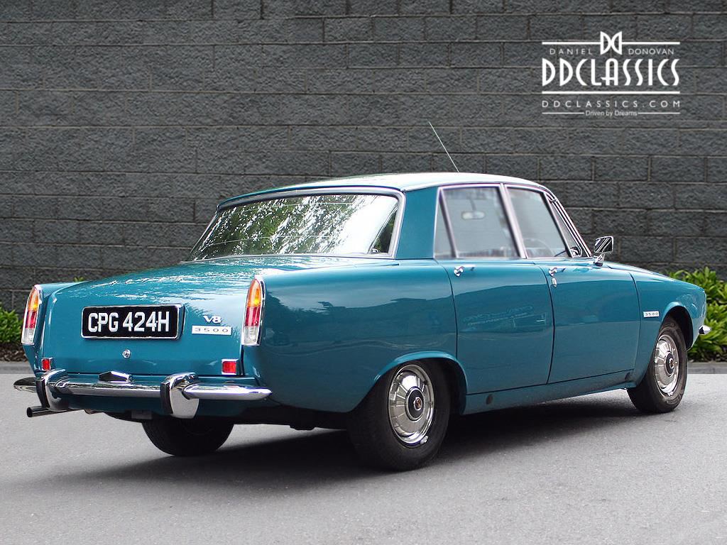 Rover P6 Rover P6 3500 V8 Spotted Pistonheads