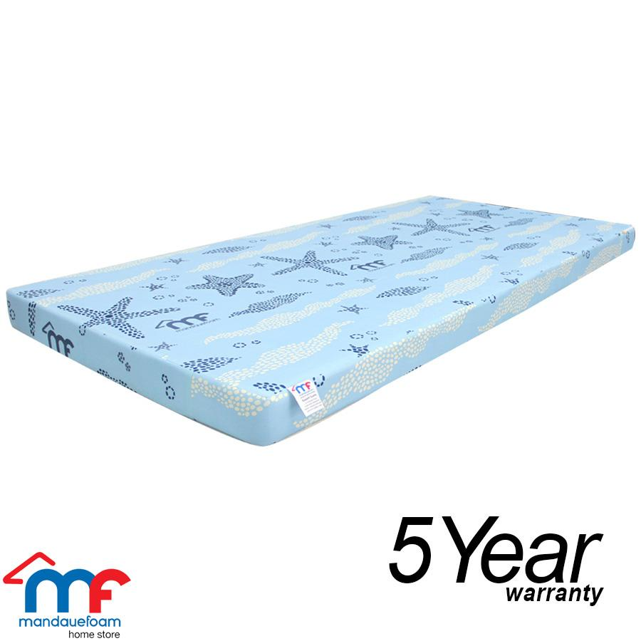 Single Mattress Length Mandaue Foam Mega Foam Mattress 2x54x75 Full Size