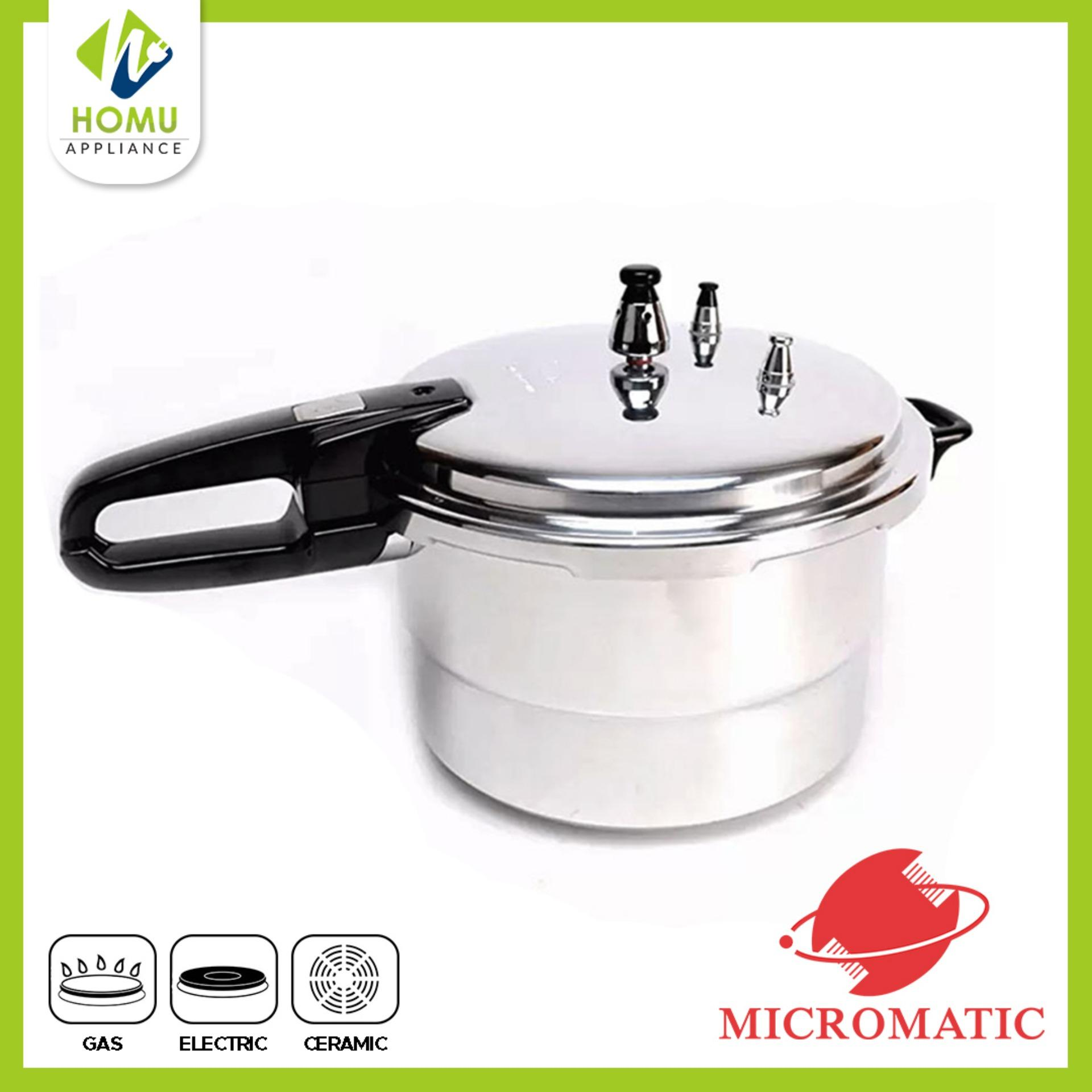 Big W Pressure Cooker Micromatic 10 Quarts Pressure Cooker