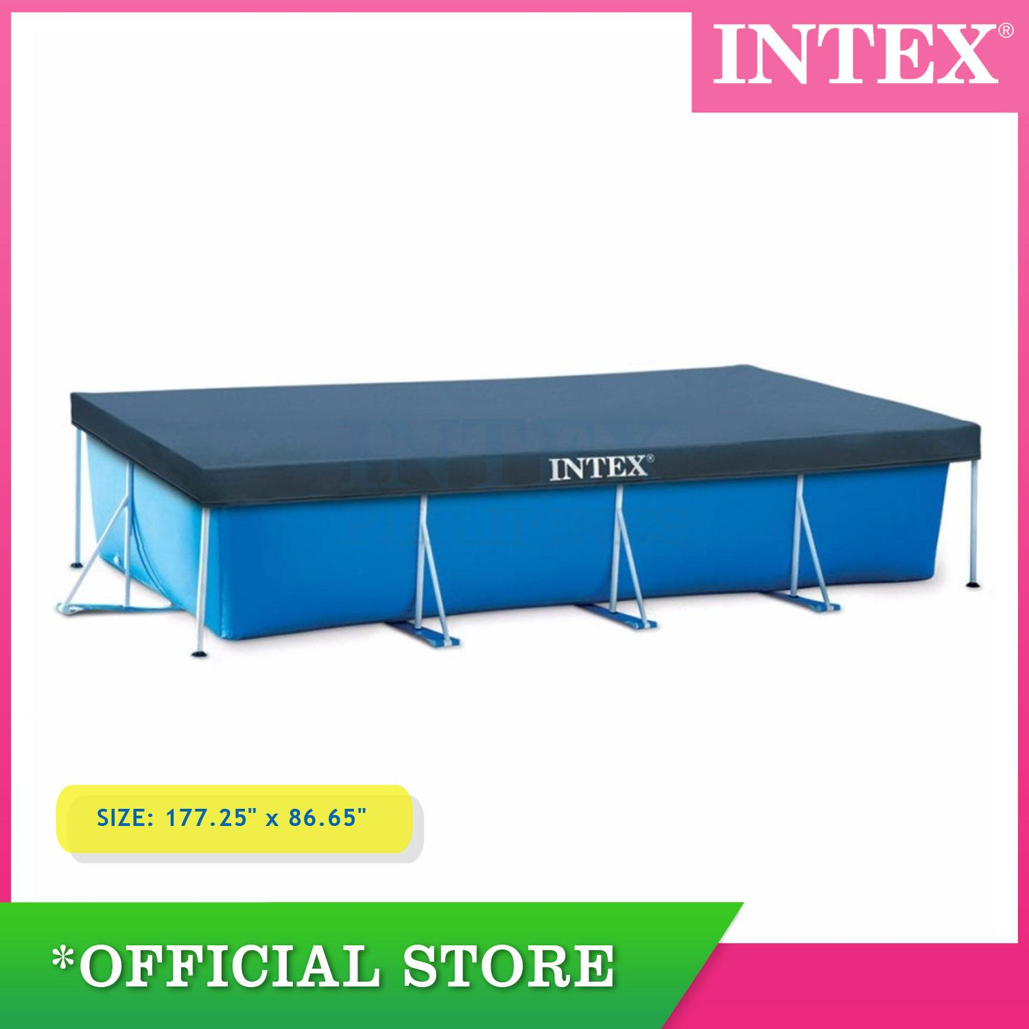 Pool Reinigungsset Intex Intex Pool Cover 4 50 M X 2 20 M 177 25