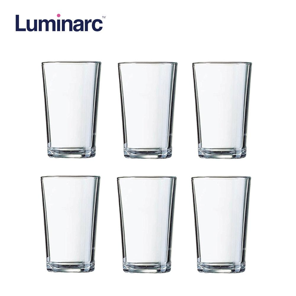 Luminarc Glass Luminarc Conique Hi Ball Heat Resistant And Dishwasher Safe Drinking Water Juice Glass Tumbler 28cl 6pcs