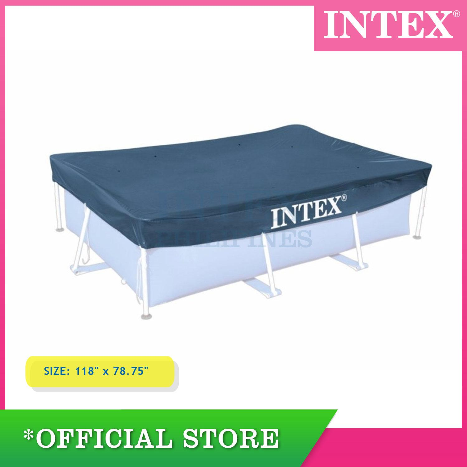 Pool Reinigungsset Intex Intex Pool Cover 3 00 M X 2 00 M 118