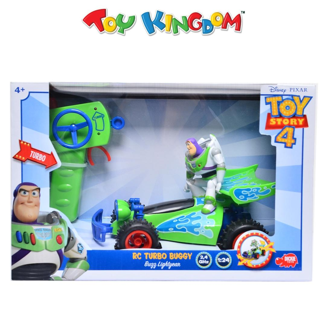 Toy Story Rc Buggy Disney Pixar Toy Story 4 Rc Turbo Buggy Buzz Lightyear For Kids