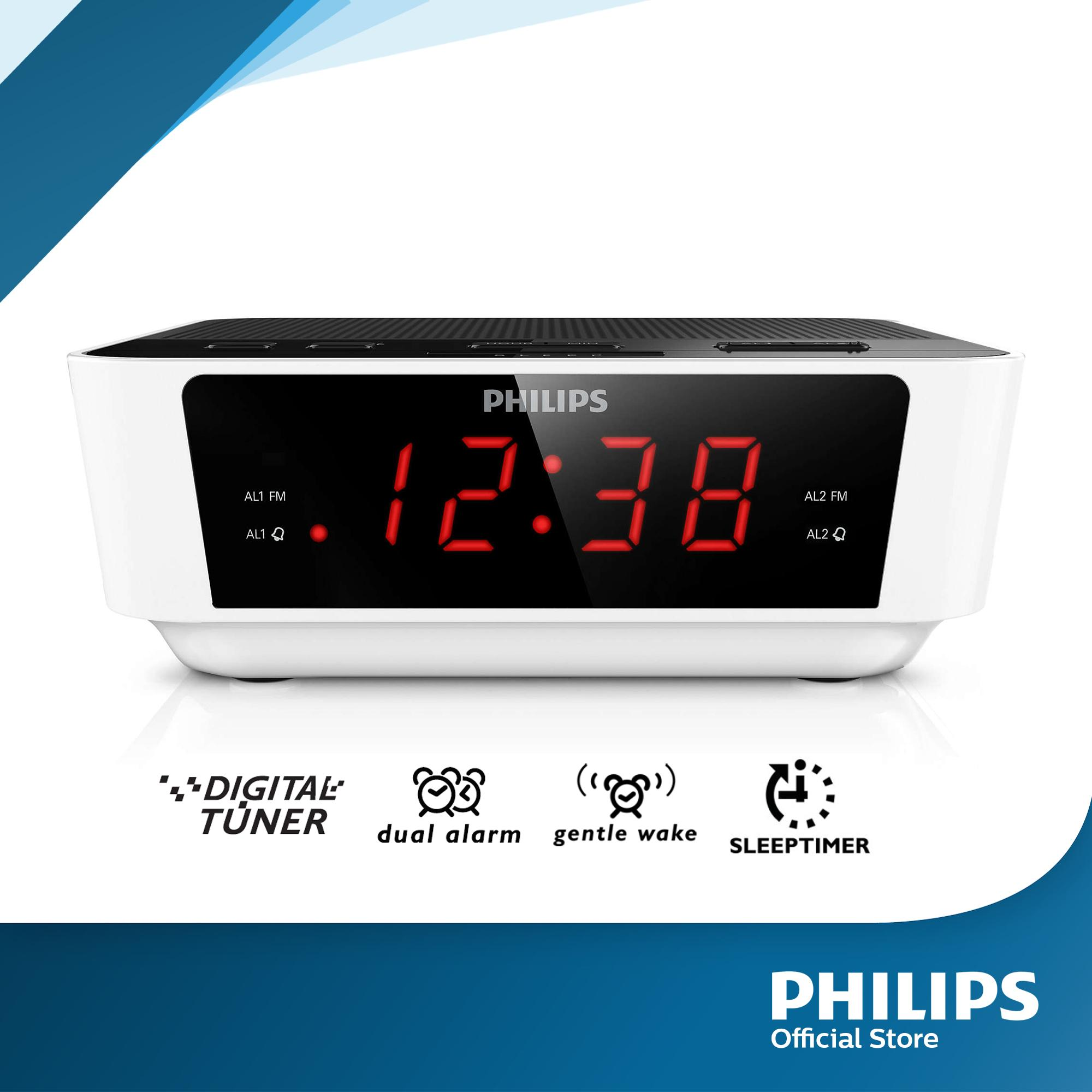 Digital Clock For Sale Philips Aj3115 12 Digital Tuning Clock Radio Black White