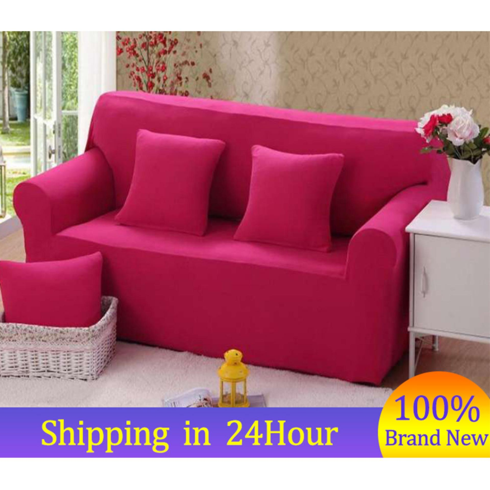 Sofa Bed For Sale Tarlac Original Price 1299send Gift3 Seater Cover7 Solid Colors Household Stretch Elastic Sofa Couch Protective Slipcover Hot Sale In