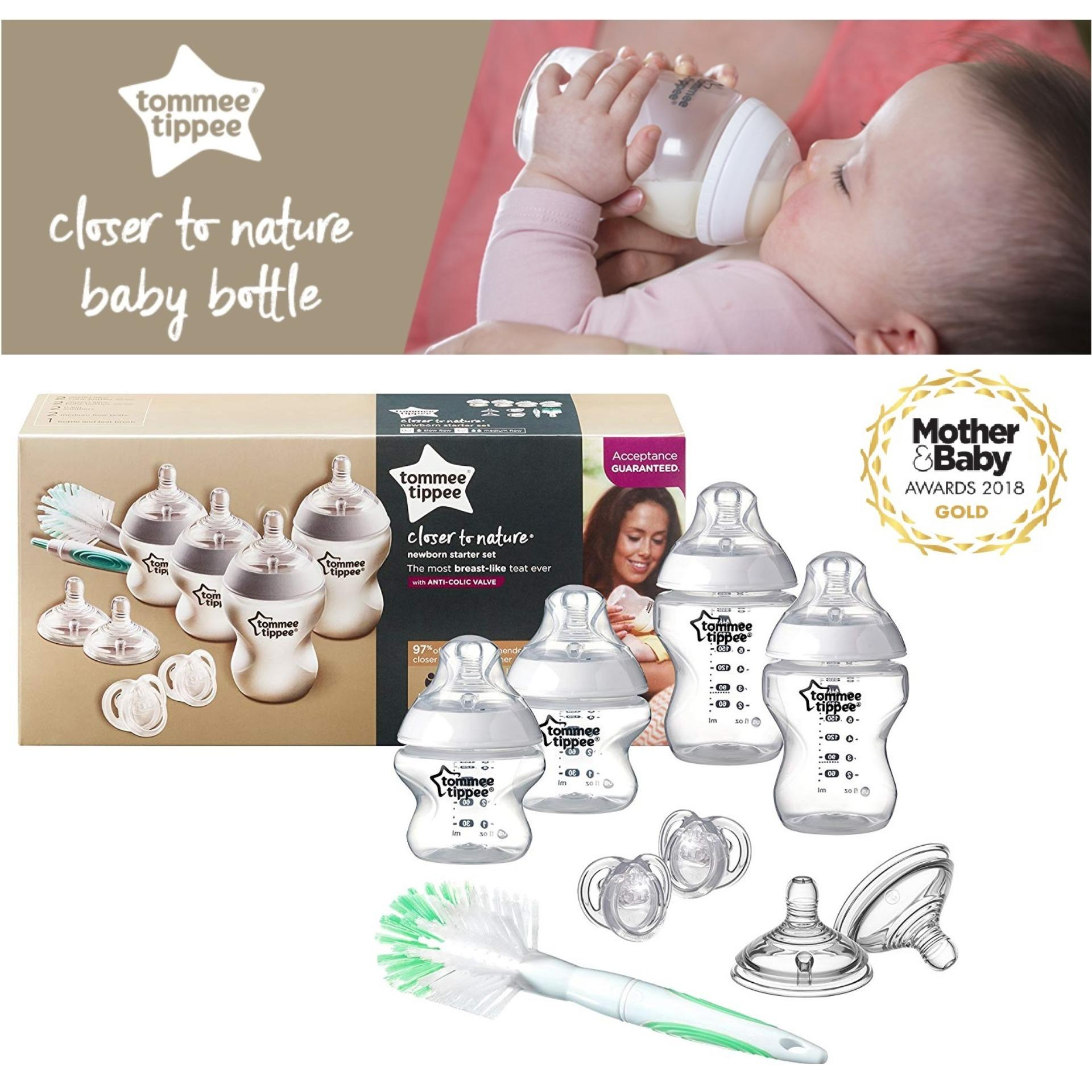 Baby Starterset Tommee Tippee Closer To Nature Newborn Starter Kit