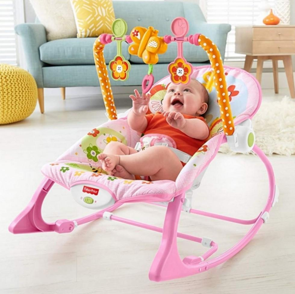Infant Rocker Carrier Fisher Price Infant To Toddler Rocker Pink