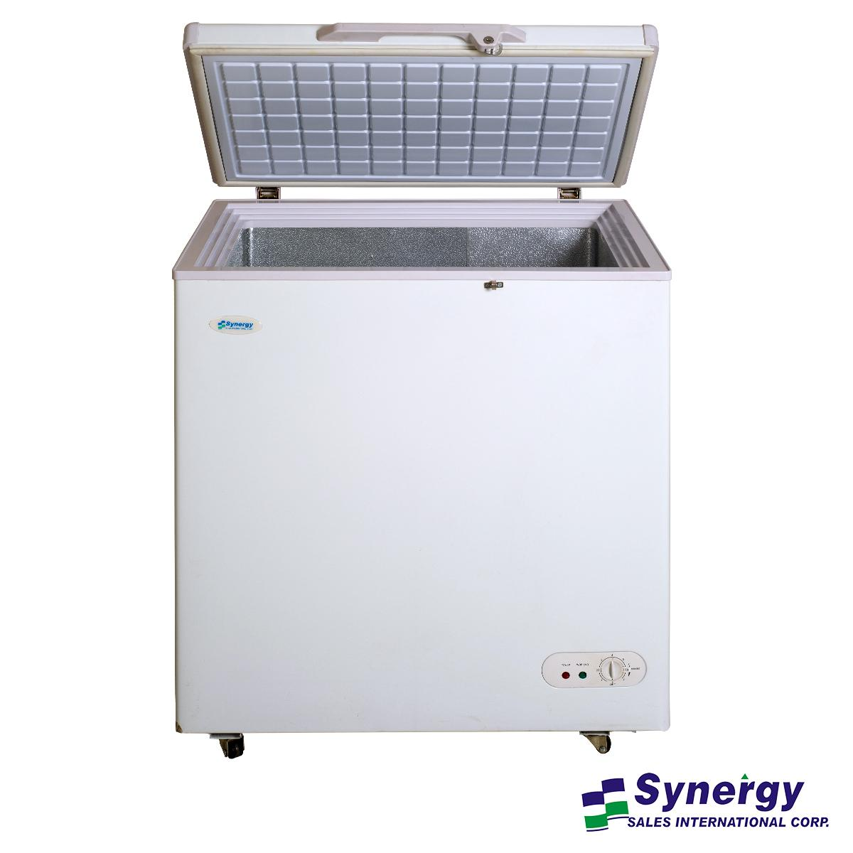 Small Stand Up Freezer Synergy Chest Freezer 5 Cubic Ft