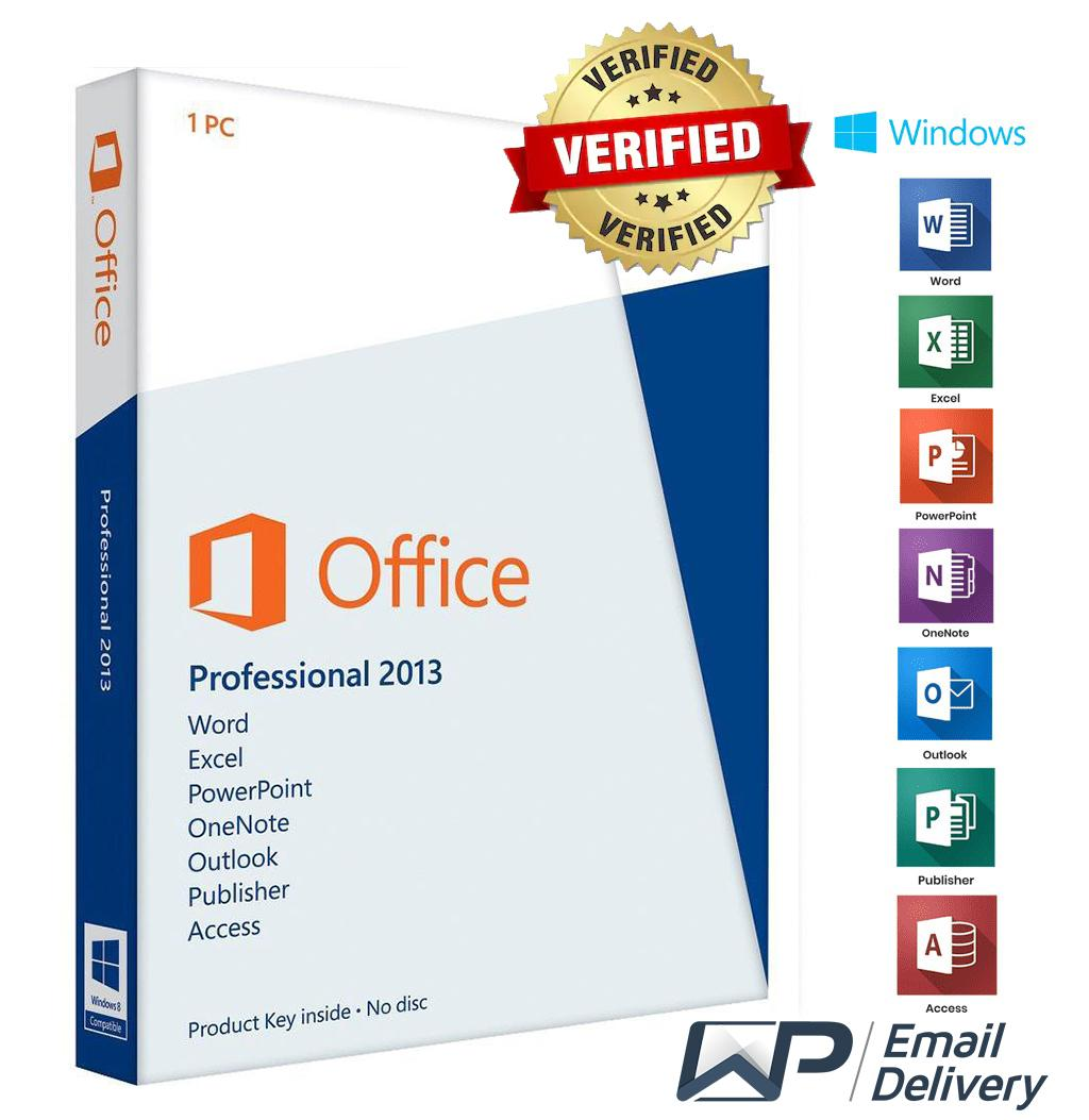 Microsoft Office 2013 Professional Plus Microsoft Office 2013 Professional Plus Lifetime Subscription
