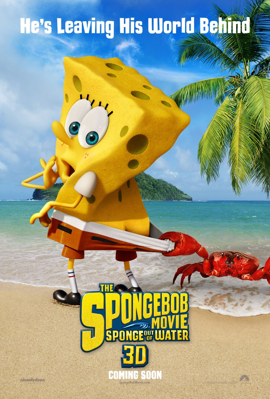 Poster phim The SpongeBob Movie: Sponge Out of Water